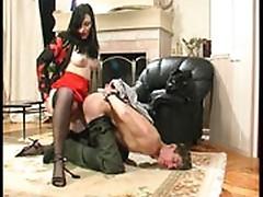 Gwendolen and Caspar joystick humiliation movie