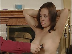 Sleaze real doll does intense and erotic BDSM sex.