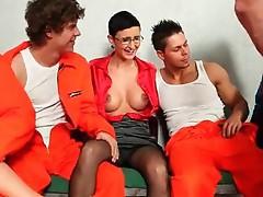 Prison power bang party