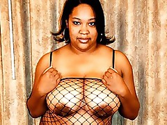 Ebony sex stud Dwayne Cummings loves them large and eager!  Inside that hot scene, he gets it onto round filthy ebony street nymph Blossom.  She looks