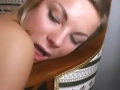 Shy Blonde assfucked by this chapr Boyfriend and his superlatively good mate!