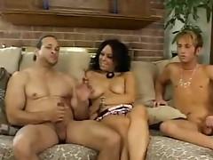 Sexy bi 3some