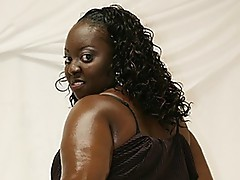 This hardcore ebony sex is rough and wild!  Chunky afro BBWs Shonta is the kind of honey who will go with any man, and she's exceptionally please