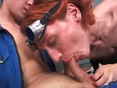 Gay gag porn