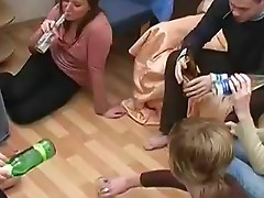 Drunk Fucking Party Always Leads to Naughty Orgy
