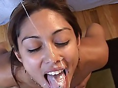 Wicked spanish gal desires large thing to dick suck and shag