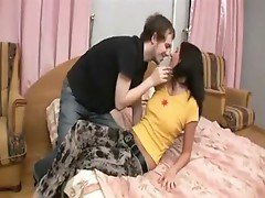 Nasty sex of young virgin sandra.