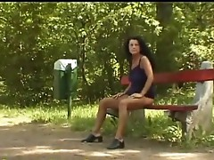 Awful pissing movie with mature bitch peeing