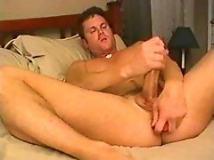 Ass dildoing and wanking