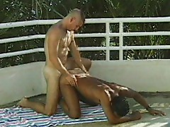 Rimming and buggering at the pool