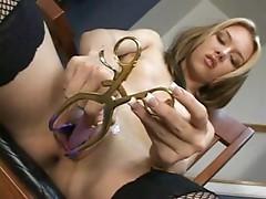Pussy spread wide open