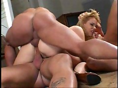 Gia Paloma gangbanged and peeing