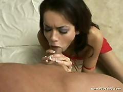 Passionate oral sex