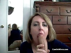 Wife loves mouthfuls