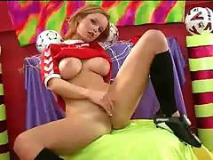 Girl loves her balls