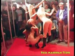 Exhibitionist lesbian sex
