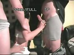 Dancing tits and gangbang