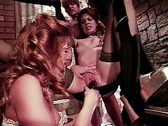 Jessica Drake in the lesbian prison cell
