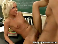 Kacey Jordan is a naughty schoolgirl