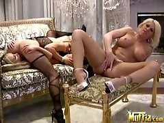 Hot scene with hot babes