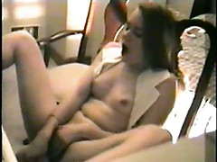 Nice girl's orgasm on video