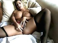 Sara Jay masturbating