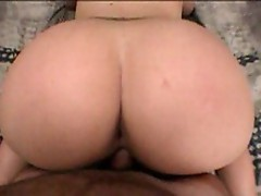 Buxom April POV ass scene