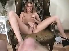 French girl Tanya masturbates