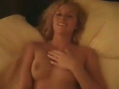 Hot amateur blonde sucks 3