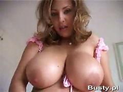 Sexy busty polish babe