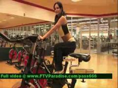 Flashing At Gym