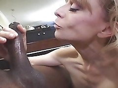 Sexy Nina and Young Black Cock