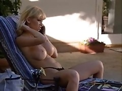 Beautiful milf cheats hubby with a husky driver