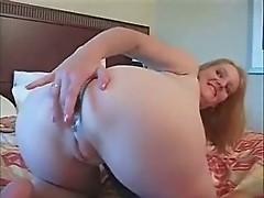 Home made. Deep anal on my slut wife