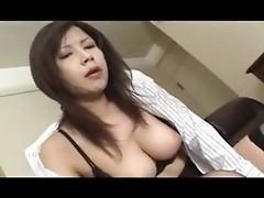 Double lollypop sucking by blazing Asian fellatrix