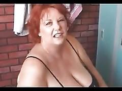Mature BBW masturbation