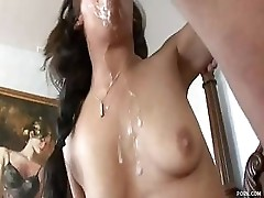 Cum Is Her Favourite Meal