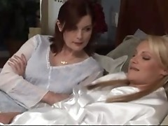 Mature Woman Seduces Young Girl