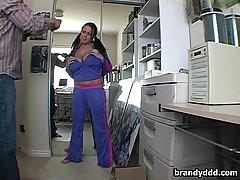Brandy and her huge boobies