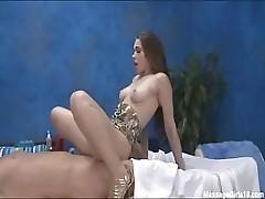 Massaged and fucked