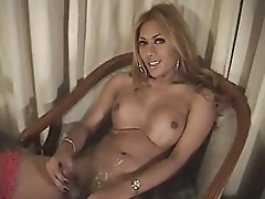 ladyboy shemale cums 6