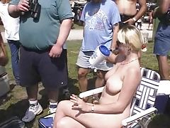 Fun at a Nudist rally 4