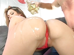 Oily Ass Gets Pounded