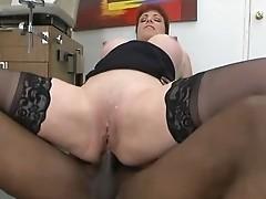 ANAL fuck Redhead mature