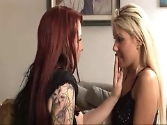 Beautiful Mature Lesbian Seduces Teen - Kylie and Aubrey