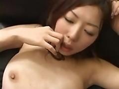 Japanese gangbanging, facialization and mass cumming