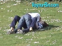 Handjob in the parc