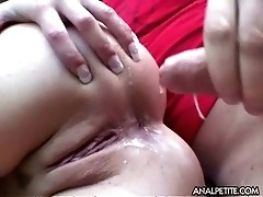 Anal fuck in the forest