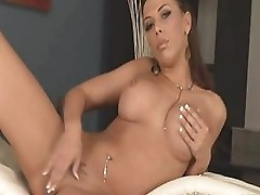 Rachel Star Shows Her Giant Tits And Tight Pussy