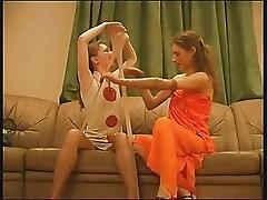 pantyhose stretching